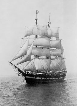 image of cw_morgan_under_sail